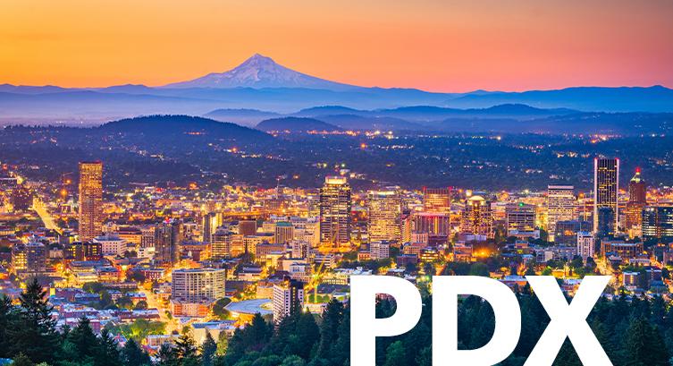 Portland Oregon airport code