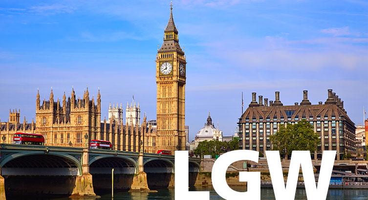 London Gatwick airport code